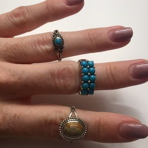 Set of assorted rings